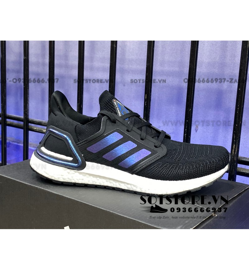 ULTRABOOST 2020 CORE BLACK BLUE VIOLET