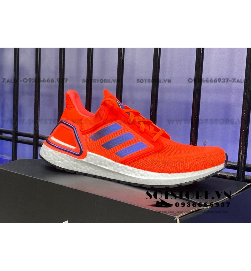ULTRABOOST 2020 ISS SOLOR RED