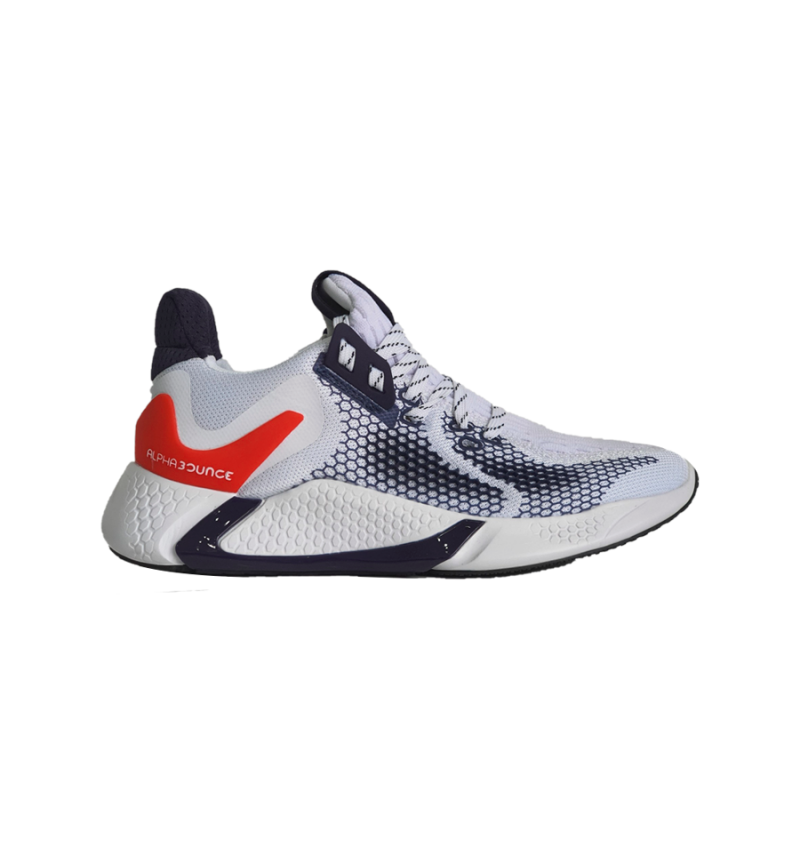 ALPHABOUNCE 2020 WHITE/RED