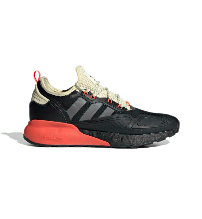 ZX 2K FULL BLACK ORANGE