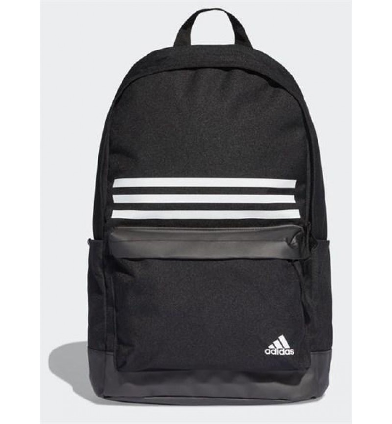 ADIDAS 3 STRIPE BLACK BACKPACK