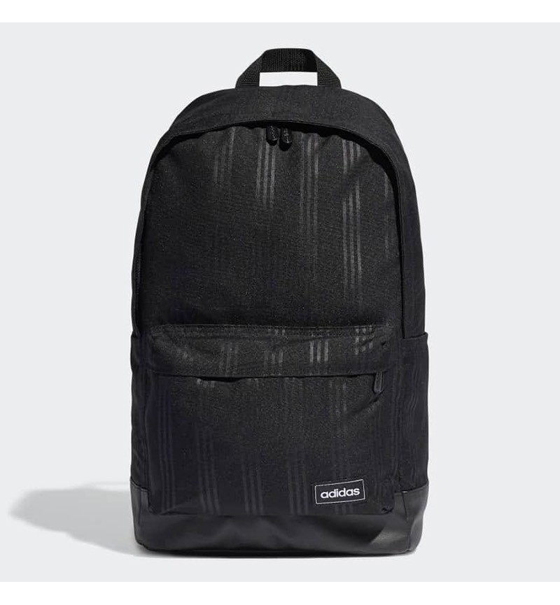 ADIDAS BLACK STRIPE BACKPACK