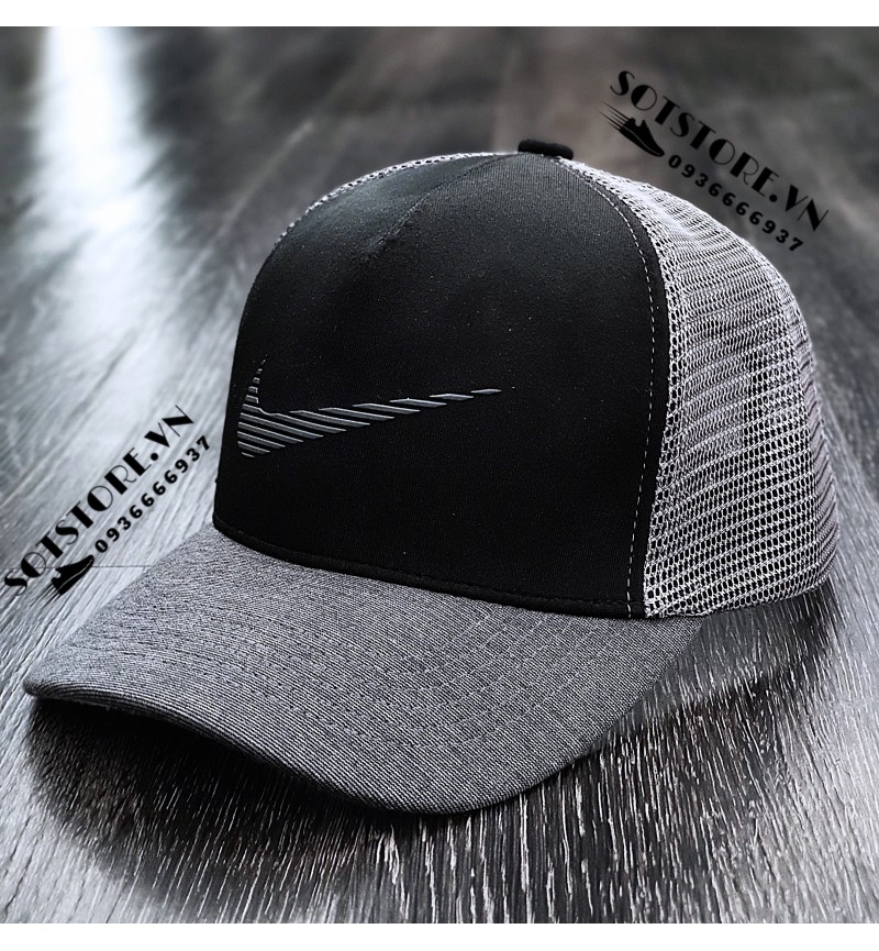 NÓN NIKE GREY/BLACK