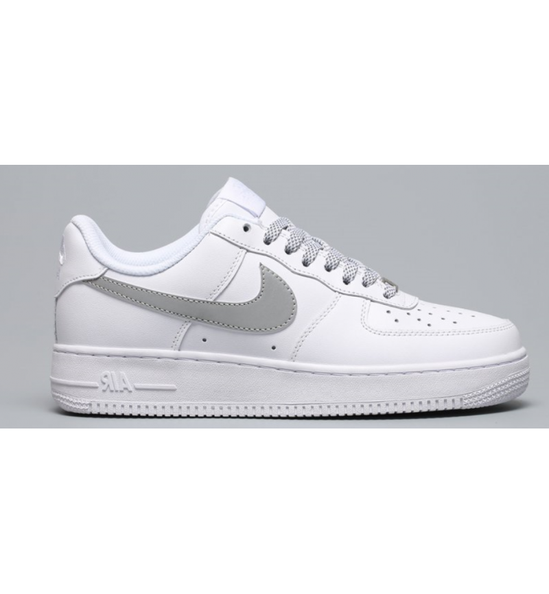 AIR FORCE 1 WHITE REFLECTIVE
