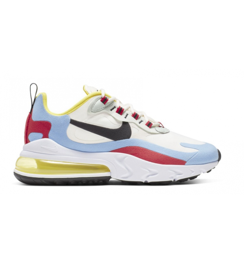 AIR MAX 270 REACT WHITE/YELLOW