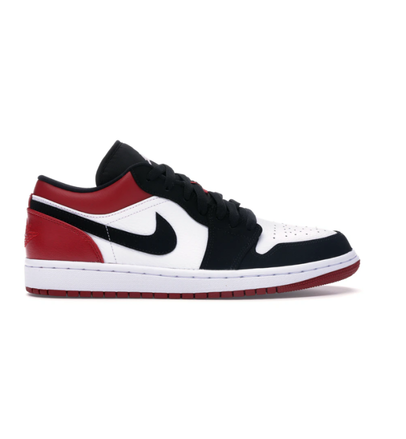 JODAN 1 LOW BLACK TOE