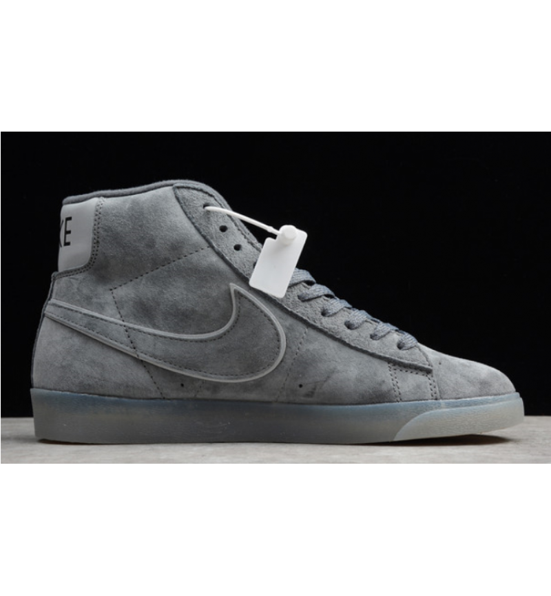 BLAZER MID RETRO GREY REFLETIVE
